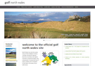 Golf North Wales