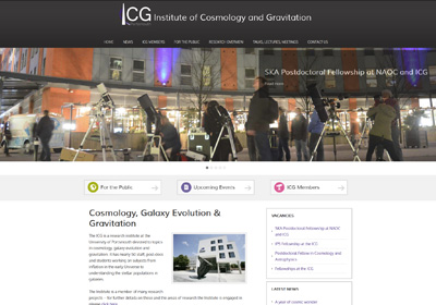 Institute of Cosmology & Gravitation