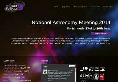 National Astronomy Meeting 2014